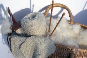 fabrication de laine et tricot