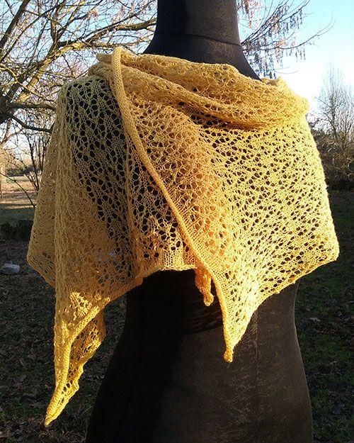 Etole en dentelle de laine – Laines de mon jardin 645ffdf951f