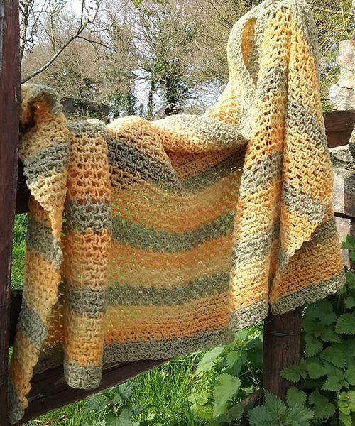 étole en laine de shropshire