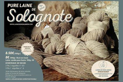 Promotion sur les laines de solognote