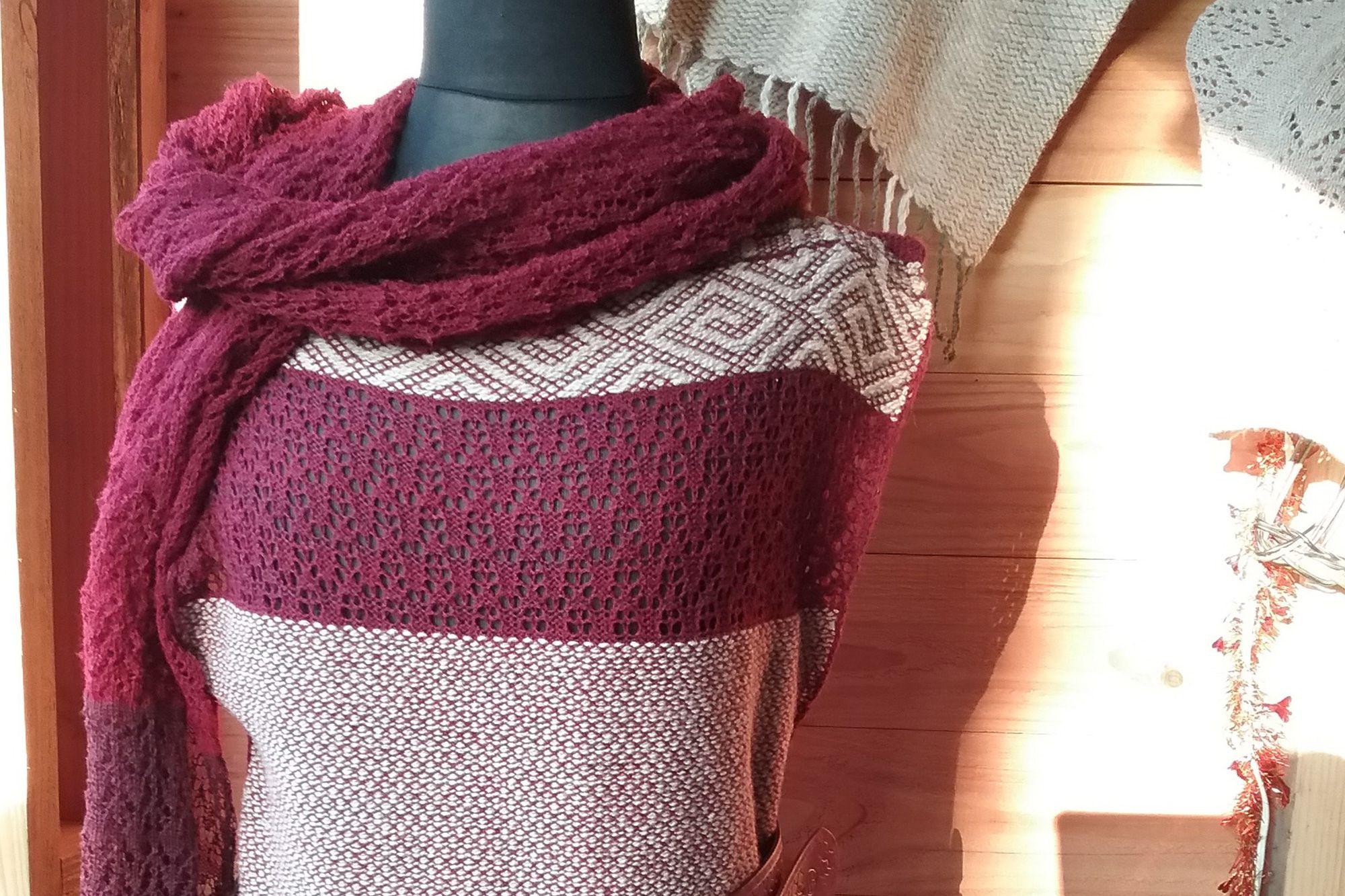 Création de vêtements en laine bio