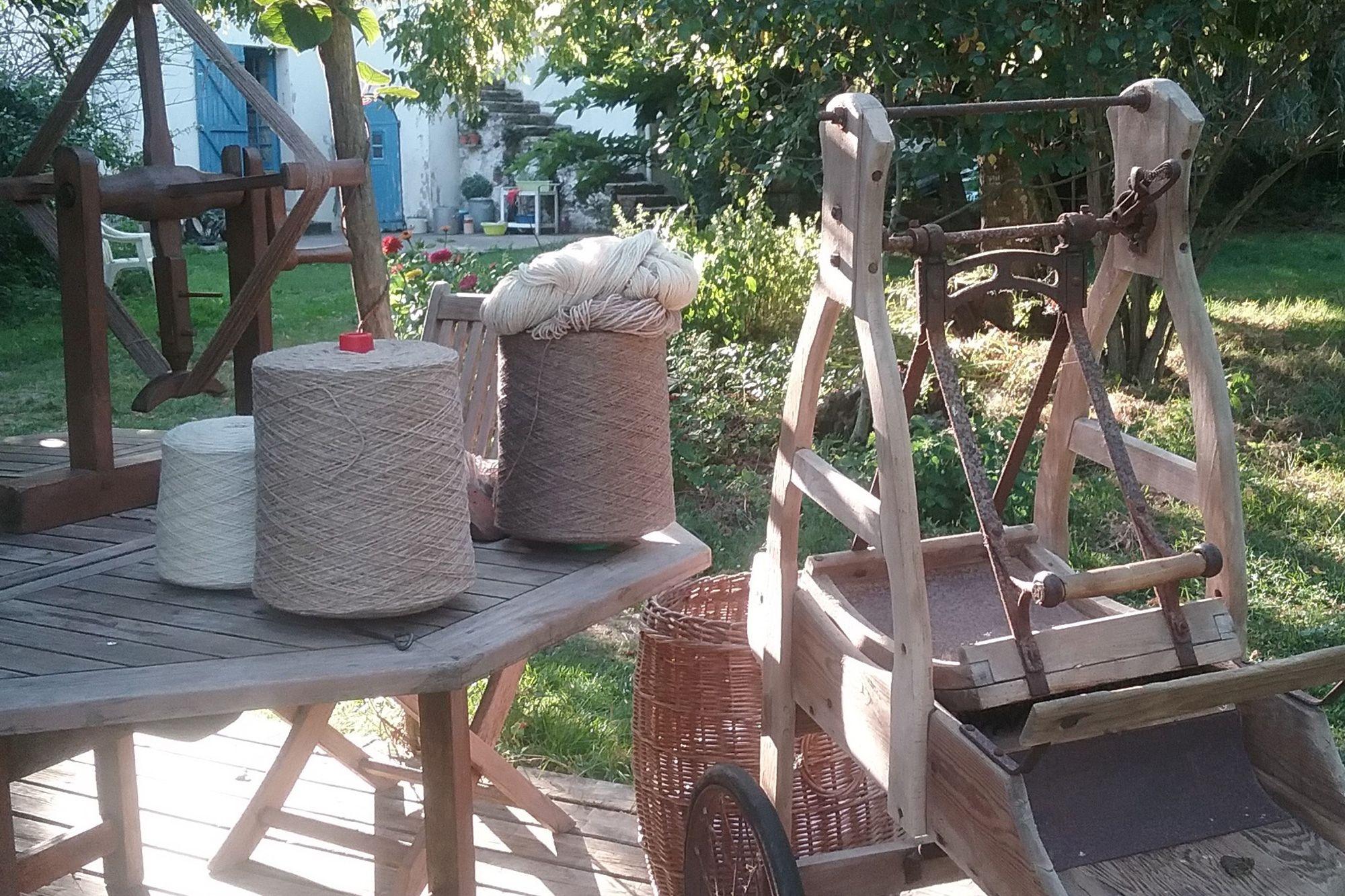 Transformation de laine bio et artisanale française