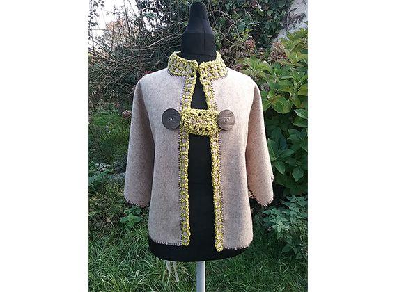 Vêtement en laine bio pour mariages et cérémonies