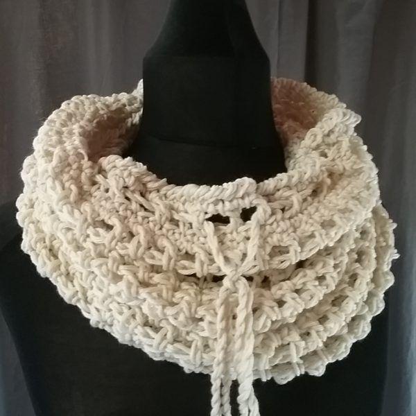 snood laine mérinos